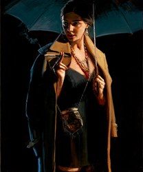 November Rain - Lucy by Fabian Perez - Limited Edition on Canvas sized 15x18 inches. Available from Whitewall Galleries